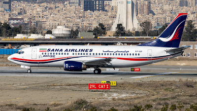 A picture of EPSIR - Boeing 73733V - Saha Airlines - © DARA ZARBAF