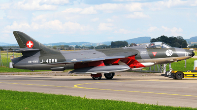 HB-RVU - Hawker Hunter Mk.58  - Private