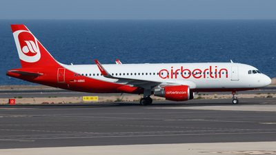 D-ABNX - Airbus A320-214 - Air Berlin
