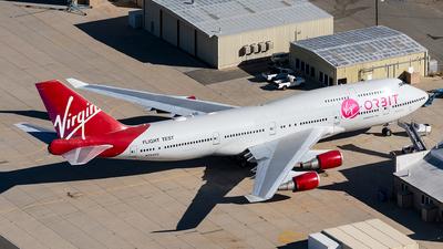 N744VG - Boeing 747-41R - Virgin Galactic