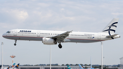 A picture of SXDVZ - Airbus A321231 - Aegean Airlines - © Michael Knüfer