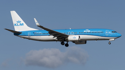 A picture of PHBXM - Boeing 7378K2 - KLM - © Matei Ioan Dascalu