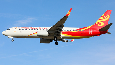 A picture of B1375 - Boeing 73784P - Hainan Airlines - © Sun Wenyuan