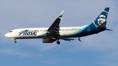 N564AS - Boeing 737-890 - Alaska Airlines