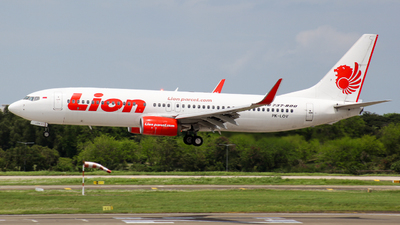 A picture of PKLOV - Boeing 7378GP - Lion Air - © Herison Riwu Kore
