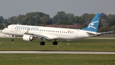 4O-AOA - Embraer 190-200LR - Montenegro Airlines