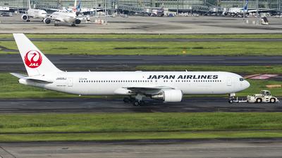 JA605J - Boeing 767-346(ER) - Japan Airlines (JAL)