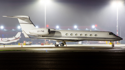 LX-PHS - Gulfstream G550 - Global Jet Luxembourg