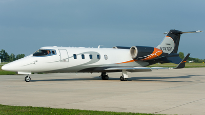N747DP - Bombardier Learjet 60 - Private