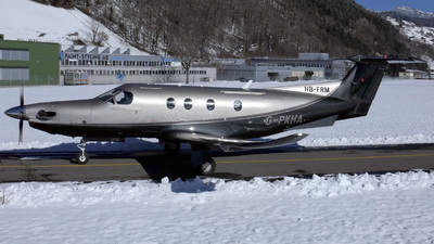 HB-FRM - Pilatus PC-12/47E - Private