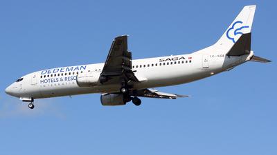 TC-SGE - Boeing 737-48E - Saga Airlines