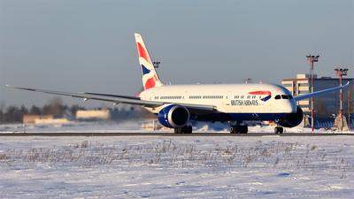 G-ZBKH - Boeing 787-9 Dreamliner - British Airways