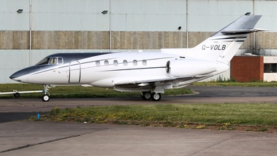 G-VOLB - Raytheon Hawker 800XP - Private