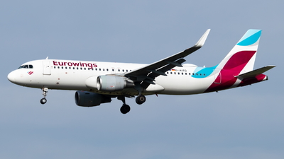 A picture of DAIZQ - Airbus A320214 - Eurowings - © Marco Materlik