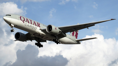 A picture of A7BFW - Boeing 777F - Qatar Airways - © Camilo Andres Rodriguez Torres