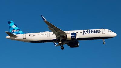 N2027J - Airbus A321-271NX - jetBlue Airways