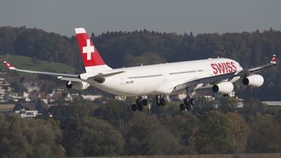HB-JMD - Airbus A340-313X - Swiss