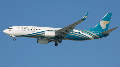 A picture of A4OBL - Boeing 73781M - Oman Air - © Dave Jefferys