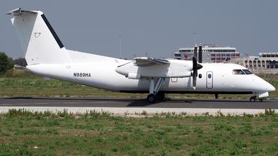 A picture of N989HA - De Havilland Canada Dash 8200 - Berry Aviation - © Buzu