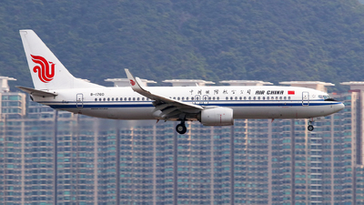 A picture of B1760 - Boeing 73789L - Air China - © JNYAU