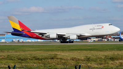 HL7413 | Boeing 747-48E(BDSF) | Asiana Cargo | JetPhotos