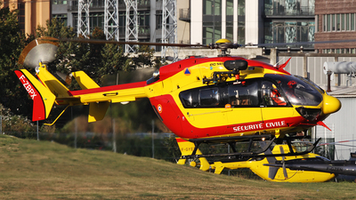 F-ZBPX - Eurocopter EC 145 - France - Sécurité Civile