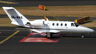 SE-RGX - Cessna 525 CitationJet 1 - Private