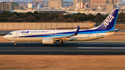 A picture of JA66AN - Boeing 737881 - All Nippon Airways - © Shusei Hamada
