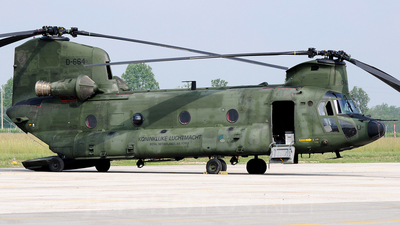 D-664 - Boeing CH-47D Chinook - Netherlands - Royal Air Force
