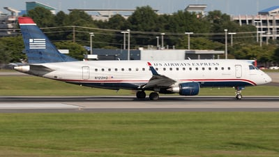 N122HQ - Embraer 170-200LR - US Airways Express (Republic Airlines)