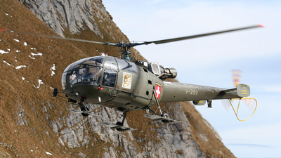 V-259 - A�rospatiale SA 316B Alouette III - Switzerland - Air Force