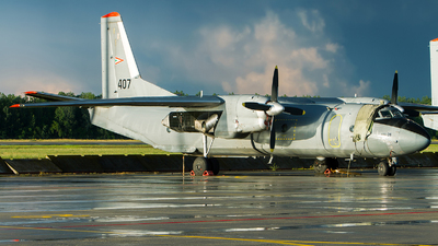 407 - Antonov An-26B - Hungary - Air Force