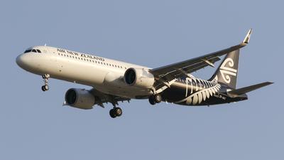 ZK-NNC - Airbus A321-271NX - Air New Zealand