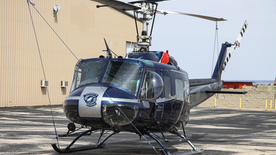 N502AW - Bell UH-1 Iroquois - Airwest Helicopters