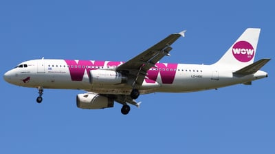 LZ-MDC - Airbus A320-232 - WOW Air (Air Via)