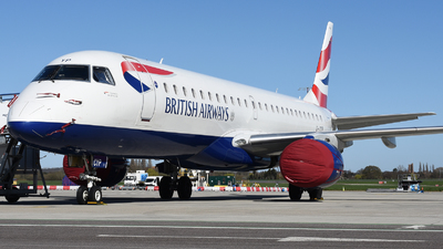 A picture of GLCYP - Embraer E190SR - British Airways - © David Oates