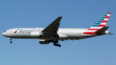 A picture of N789AN - Boeing 777223(ER) - American Airlines - © Chris Pitchacaren