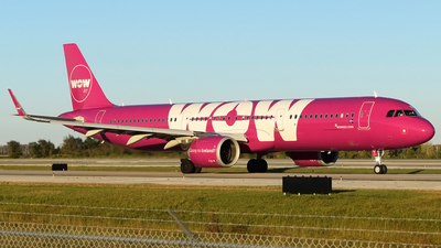 TF-SKY - Airbus A321-253N - WOW Air