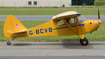 G-BCVB - Piper PA-17 Vagabond - Private