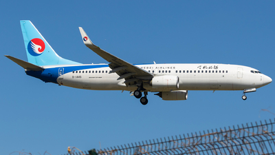 B-1445 - Boeing 737-8LW - Hebei Airlines