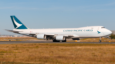 B-LJF - Boeing 747-867F - Cathay Pacific Cargo