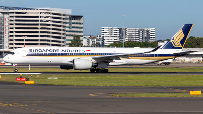 A picture of 9VSMU - Airbus A350941 - Singapore Airlines - © CATHAY246