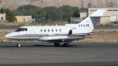 LY-LTA - Raytheon Hawker 800XP - Private