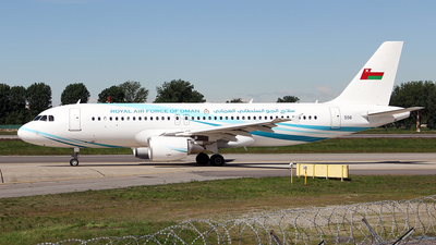 556 - Airbus A320-214(CJ) Prestige - Oman - Royal Air Force