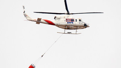 PK-DAS - Bell 412 - BNPB - Indonesian National Board for Disaster Management