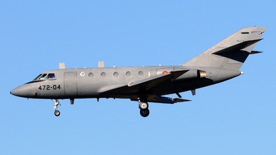 TM.11-4 - Dassault Falcon 20E-5 - Spain - Air Force