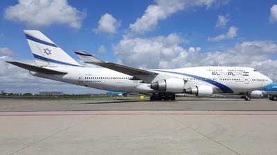 4X-ELA - Boeing 747-458 - El Al Israel Airlines