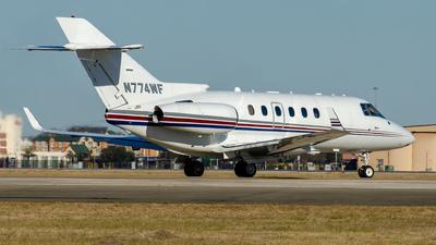 N774WF - Raytheon Hawker 850XP - Private