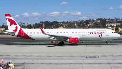 C-FJQH - Airbus A321-211 - Air Canada Rouge