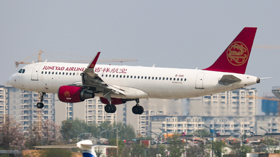 B-1681 - Airbus A320-214 - Juneyao Airlines
